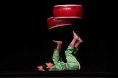 Chinese Acrobats Stock Photos