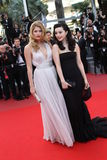 Chinese actress Fan Bingbing and Dutch model Dout Stock Photography