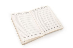 Chinese Address book Stock Photos