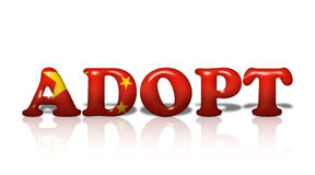 Chinese Adoption Royalty Free Stock Photos