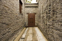 Chinese alley Royalty Free Stock Images