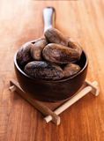 Chinese allspice. In the wooden spoon stock photography