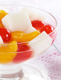 Chinese Almond Jelly Royalty Free Stock Image
