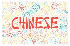Chinese alphabet texture background. Creative chinese alphabet texture background - high resolution Royalty Free Stock Image