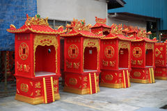 Chinese altar house Royalty Free Stock Image