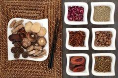 Chinese Alternative Herbal Medicine Royalty Free Stock Photos