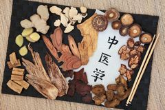 Chinese Alternative Medicine Royalty Free Stock Photo