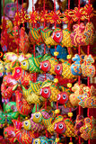 Chinese amulets as souvenirs. Colorful chinese amulets as souvenirs Stock Photos