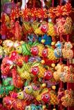 Chinese amuletten als herinneringen Stock Foto's