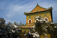 Chinese ancient architecture. Of Summer Palace in beijing china Stock Images