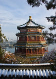 Chinese ancient architecture. Of Summer Palace in beijing china Stock Image