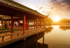 The Chinese ancient architecture Royalty Free Stock Photography