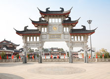 Chinese ancient architecture Stock Images