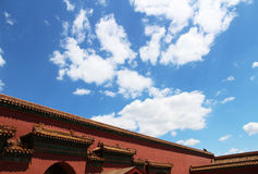 Chinese ancient architecture Royalty Free Stock Photos