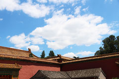 Chinese ancient architecture Stock Photo