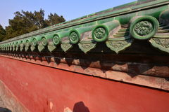 Chinese ancient architecture - Beijing Tiantan. China ancient buildings - Beijing Tiantan is the place where the emperors of the Qing Dynasty worship, pray for Stock Photos