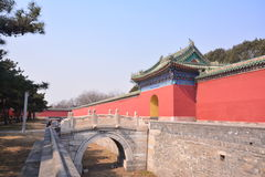 Chinese ancient architecture - Beijing Tiantan Stock Photo
