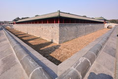 Chinese ancient architecture - Beijing Tiantan. China ancient buildings - Beijing Tiantan is the place where the emperors of the Qing Dynasty worship, pray for Stock Images