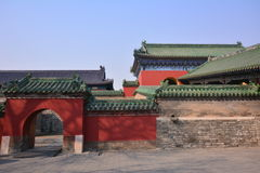 Chinese ancient architecture - Beijing Tiantan Stock Photos
