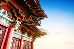 Chinese ancient architecture Stock Photos