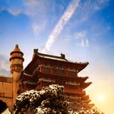 The Chinese ancient architecture Royalty Free Stock Image