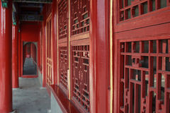 Chinese ancient architecture. In the forbidden city Stock Image