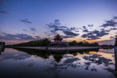 Chinese ancient architecture Stock Photography