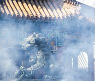 Chinese ancient architecture-temple stock photo