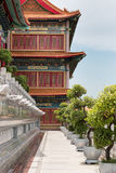 Chinese ancient architecture in Thailand. Royalty Free Stock Photos