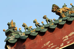 Chinese ancient architecture Royalty Free Stock Photography