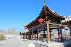 Chinese ancient building Royalty Free Stock Photography