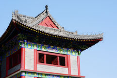 Chinese ancient building Royalty Free Stock Photo