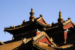 Chinese ancient building Stock Images