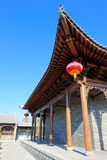 Chinese ancient building. The close-up of Chinese ancient building Royalty Free Stock Image