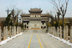 Chinese ancient buildings Stock Photos