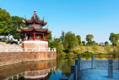 Chinese ancient buildings Stock Image