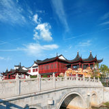 Chinese ancient buildings Royalty Free Stock Photography
