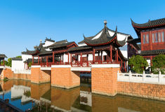 Chinese ancient buildings Stock Photography
