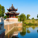 Chinese ancient buildings Royalty Free Stock Photo