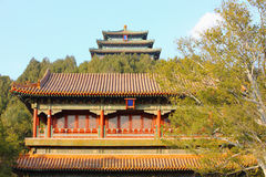 Chinese ancient buildings Stock Images