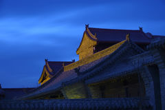Chinese ancient buildings Royalty Free Stock Photos