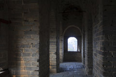 Chinese ancient buildings, the Great Wall Royalty Free Stock Photography