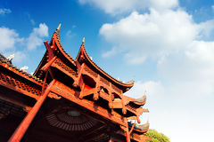 Chinese ancient buildings of local Stock Images