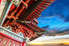 Chinese ancient buildings of local Stock Image