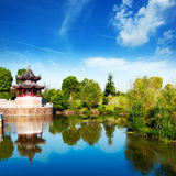 Chinese ancient buildings Royalty Free Stock Image
