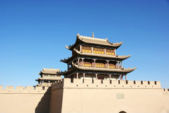 Chinese ancient city 2 stock photos