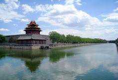 Chinese Ancient City Wall Stock Images
