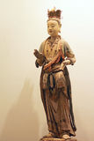 Chinese ancient clay figure Royalty Free Stock Image