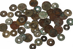 Chinese ancient coin Royalty Free Stock Photos