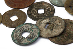 Chinese ancient coin Stock Image